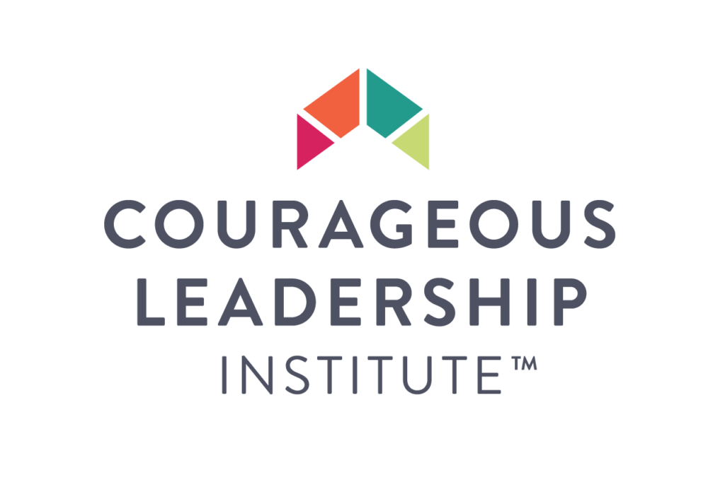 Logo for Courageous Leadership Institute, company providing leadership training and employee engagement programs