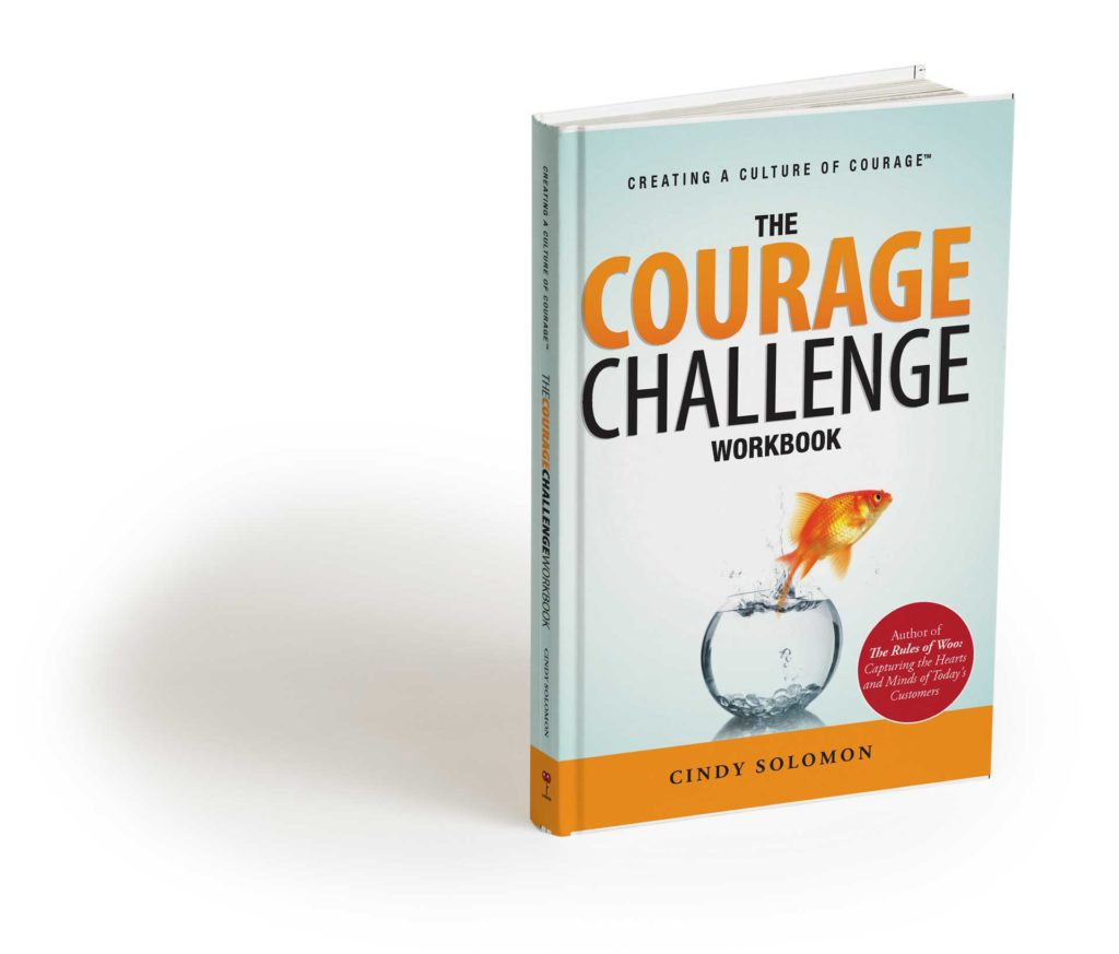 Image of The Courage Challenge by Cindy Solomon, Courageous Leadership expert